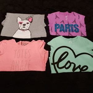 Other - Lot of 4 Girl's (3 Size 20) (1 Size 20 1/2) Tees
